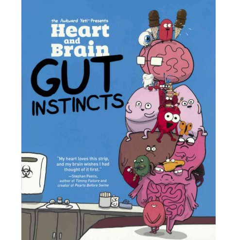 Heart and Brain : Gut Instincts (Reprint) (Prebind) (Nick Seluk) - image 1 of 1