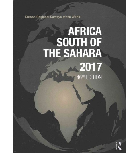 Africa South of the Sahara 2017 (Hardcover) - image 1 of 1