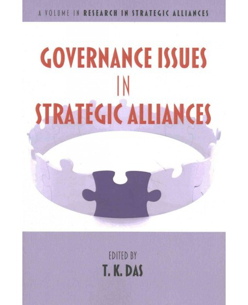 Governance Issues in Strategic Alliances (Paperback) - image 1 of 1