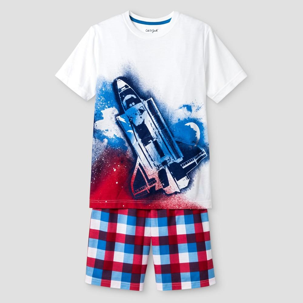 Boys Pajama Set - Cat & Jack White XL