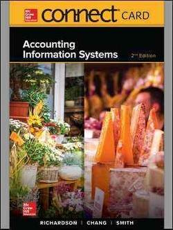 Accounting Information Systems Connect Access Card (Hardcover) (Vernon Richardson)