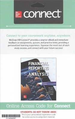 Financial Reporting & Analysis Connect Access Card (Hardcover) (Lawrence Revsine)