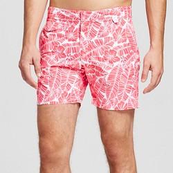 Men's Swim Trunks Floral Print Red - IBIZA