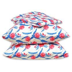 White & Pink Palm Flower Sheet Set - Hot Now™