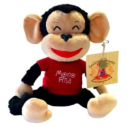 AZIAM Mono Risa Monkey Plush