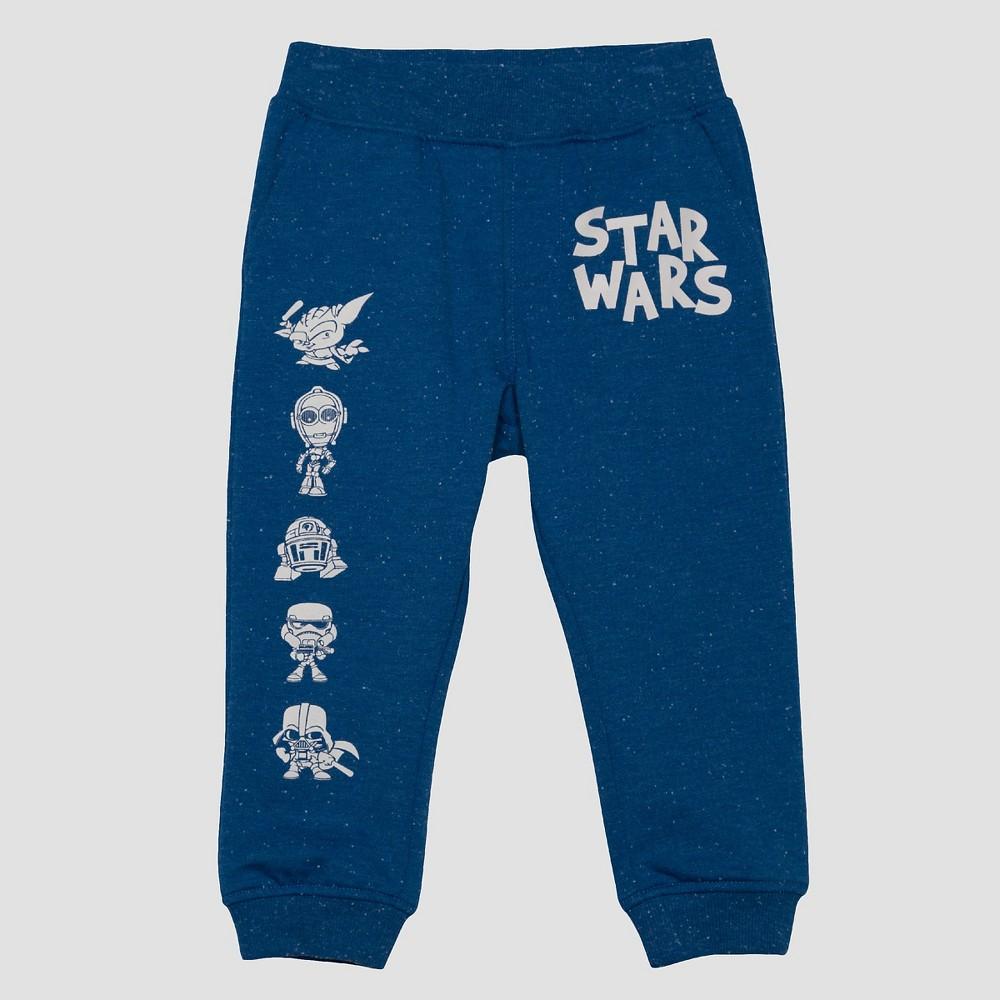 Toddler Boys Star Wars Jogger Pants - Blue 3T
