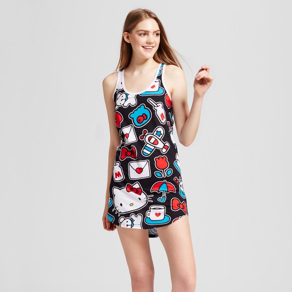 Womens Hello Kitty Sleep Tank Pajama XL, Multicolored