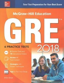 McGraw-Hill Education GRE 2018 (Paperback) (Erfun Geula)