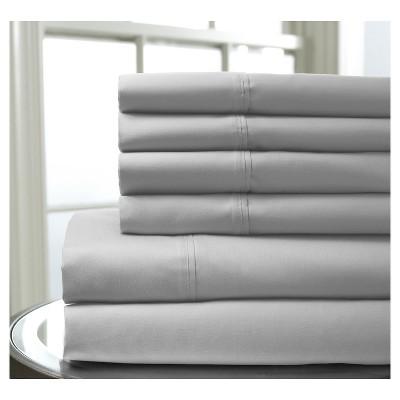 Regency Bonus Cotton Sheet Set (Full)Silver