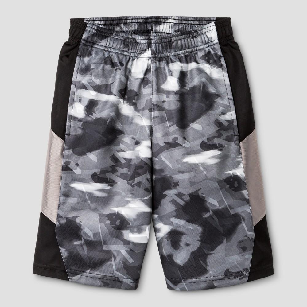 Boys Printed Training Shorts - C9 Champion Gray Print L
