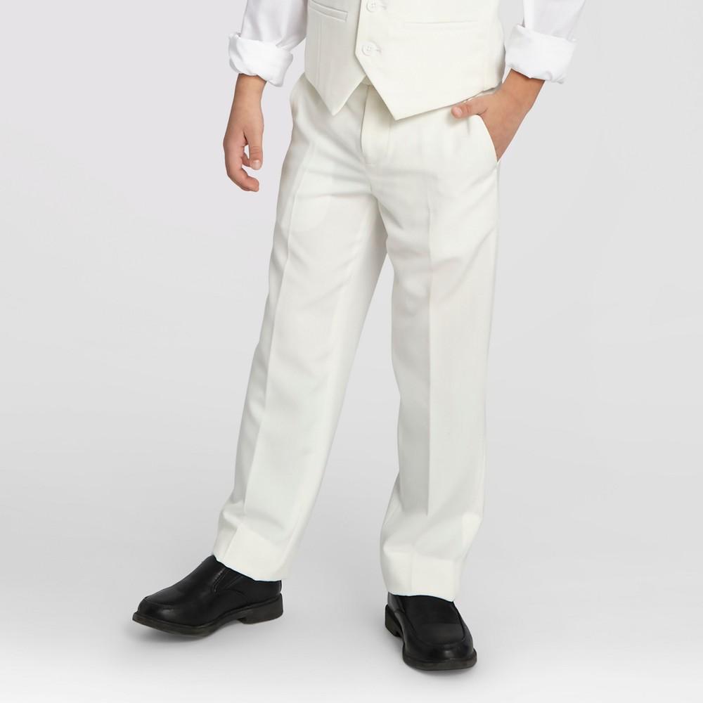Wd·ny Boys Communion Suit Pants - White 20