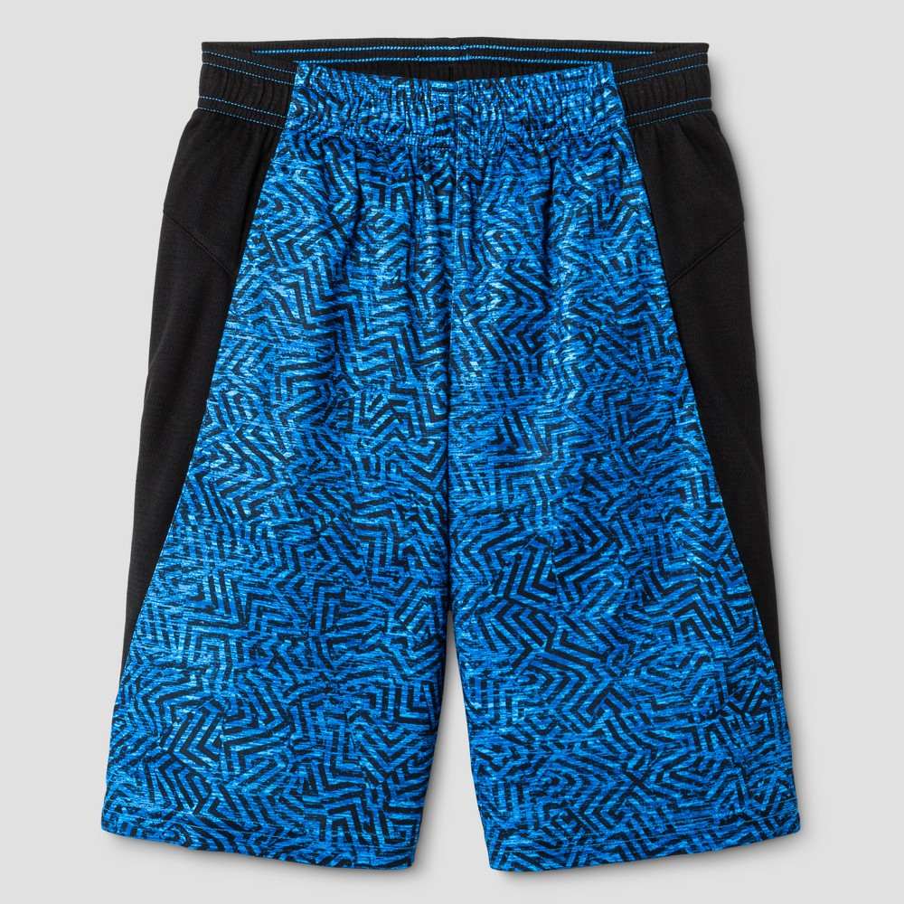 Boys Novelty Training Shorts - C9 Champion Blue Print L