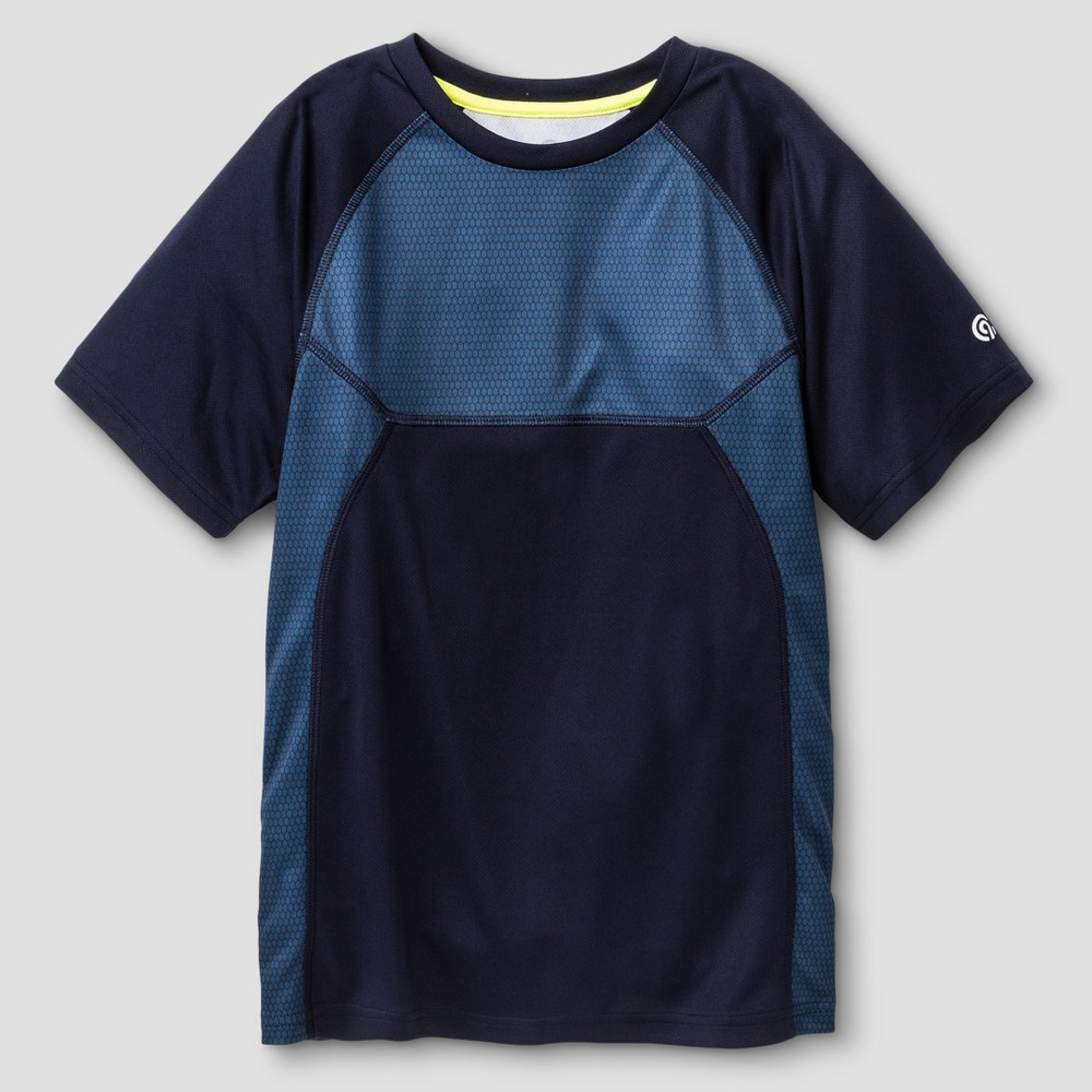 Boys' Printed Hexagon Tech T-Shirt - C9 Champion - Navy (Blue) XL