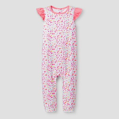 Oh Joy!® Baby Girls' Dot Pants Romper - 3-6M