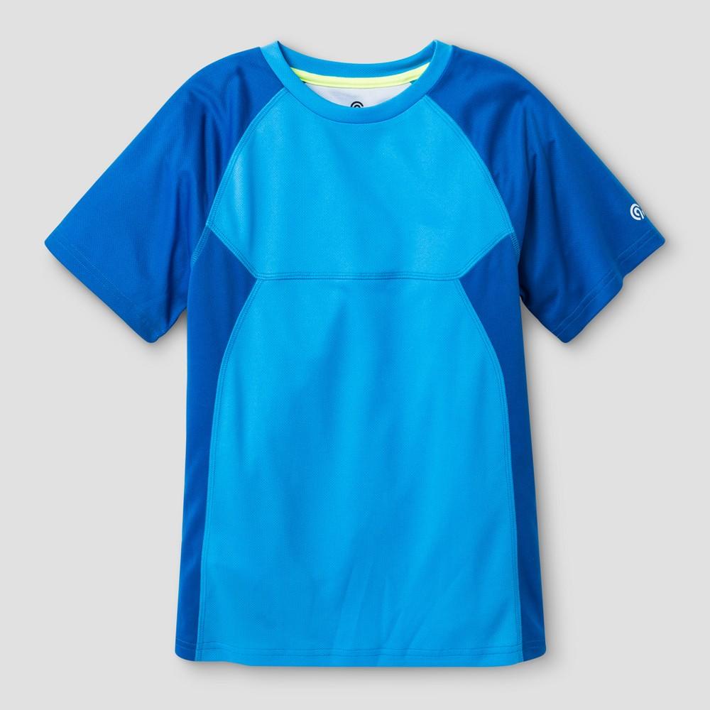 Boys Printed Vent Tech T-Shirt - C9 Champion - Blue S