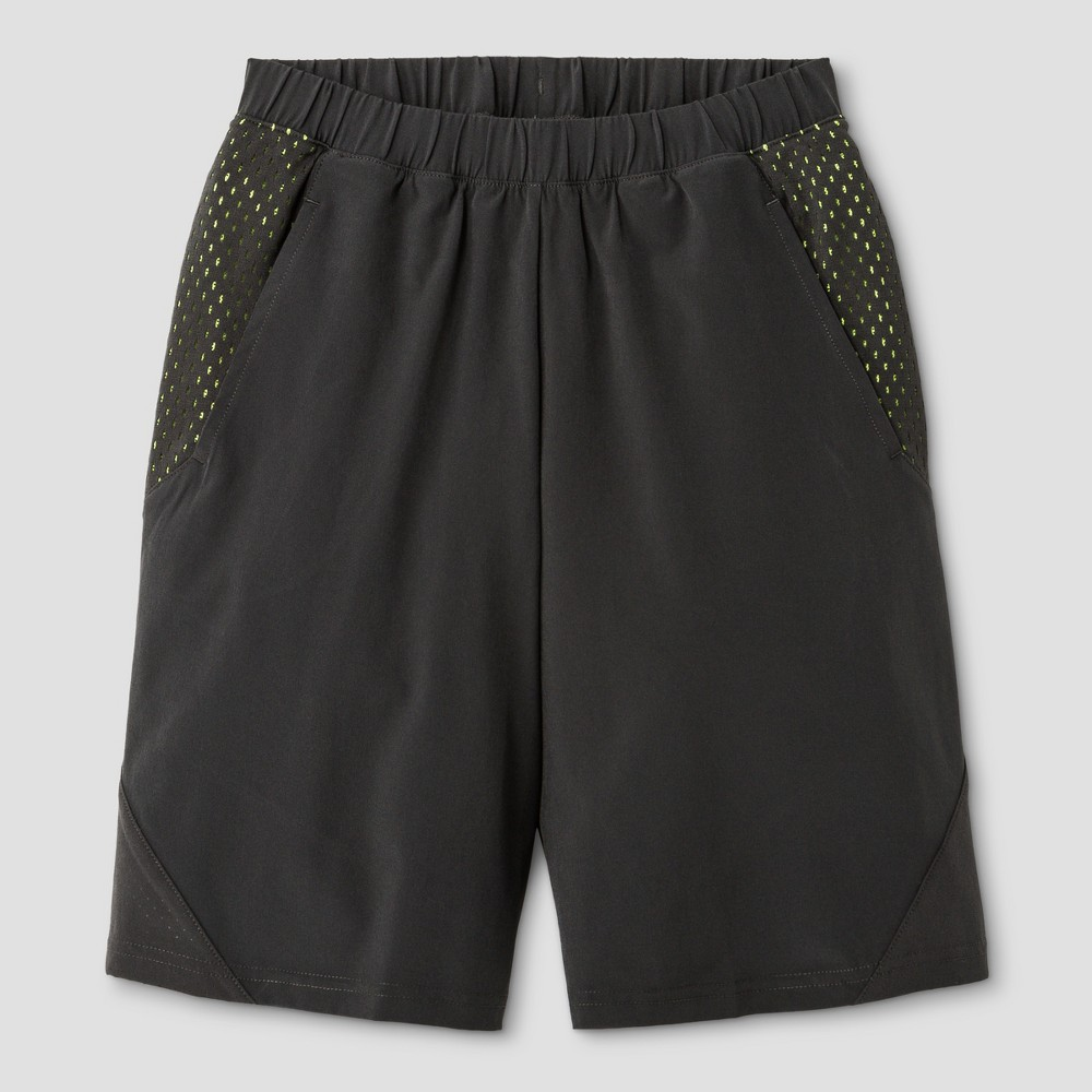 Boys Stretch Woven Shorts - C9 Champion Charcoal (Grey) M