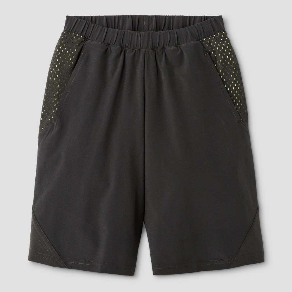 Boys Stretch Woven Shorts - C9 Champion Charcoal (Grey) L