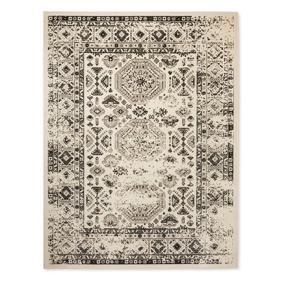 Cream Solid woven Area Rug - (7'X10')- Threshold™
