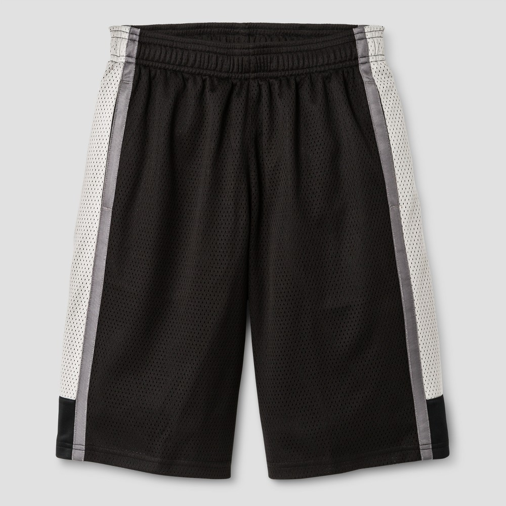 Boys 2 in 1 Basketball Shorts - C9 Champion Black L