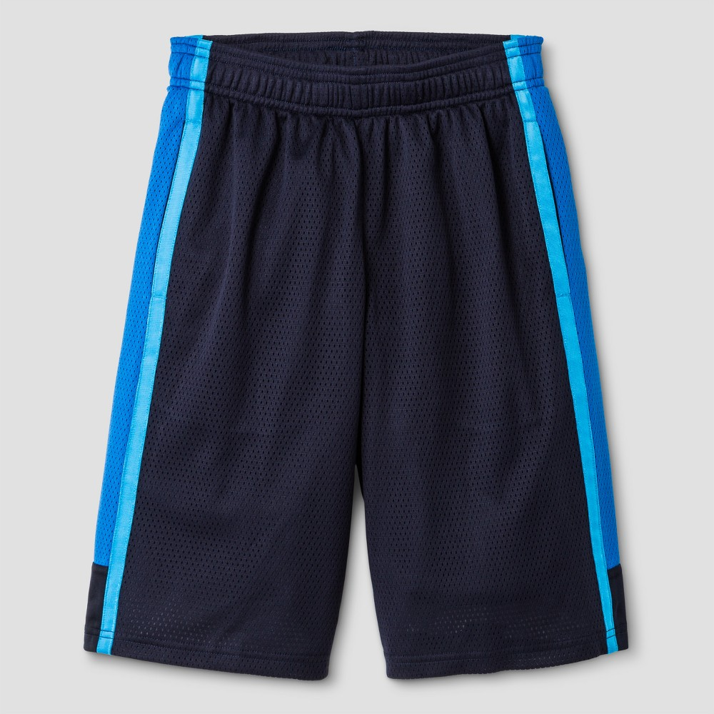 Boys 2 in 1 Basketball Shorts - C9 Champion Navy (Blue) S