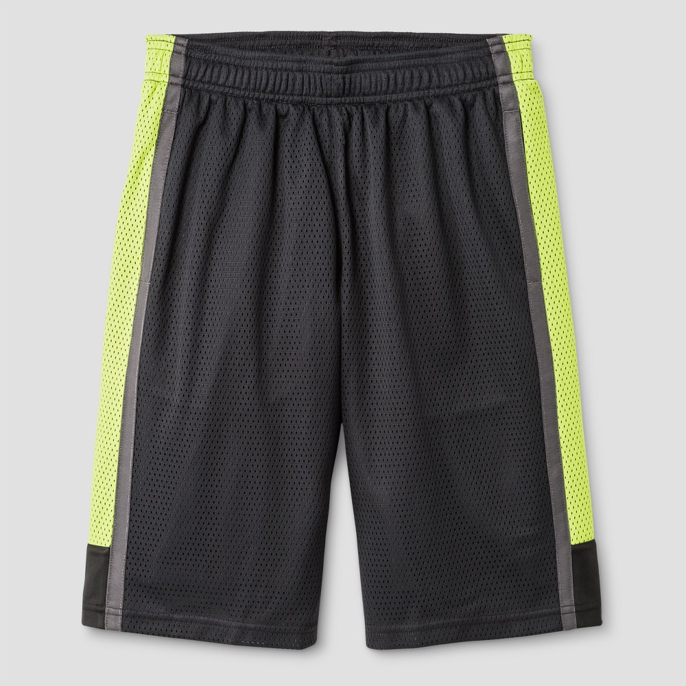 Boys 2 in 1 Basketball Shorts - C9 Champion Charcoal (Grey) S