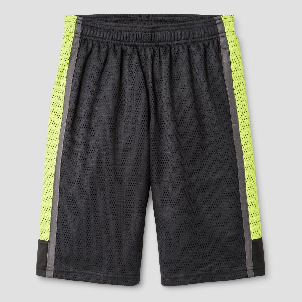 Boys 2 in 1 Basketball Shorts - C9 Champion Charcoal (Grey) L