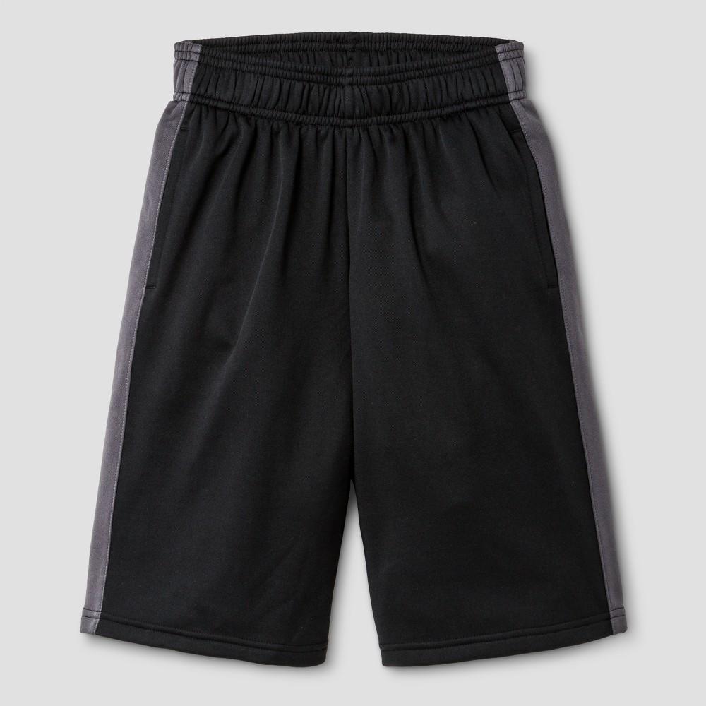 Boys' Tech Fleece Shorts - C9 Champion - Black XL, Ebony