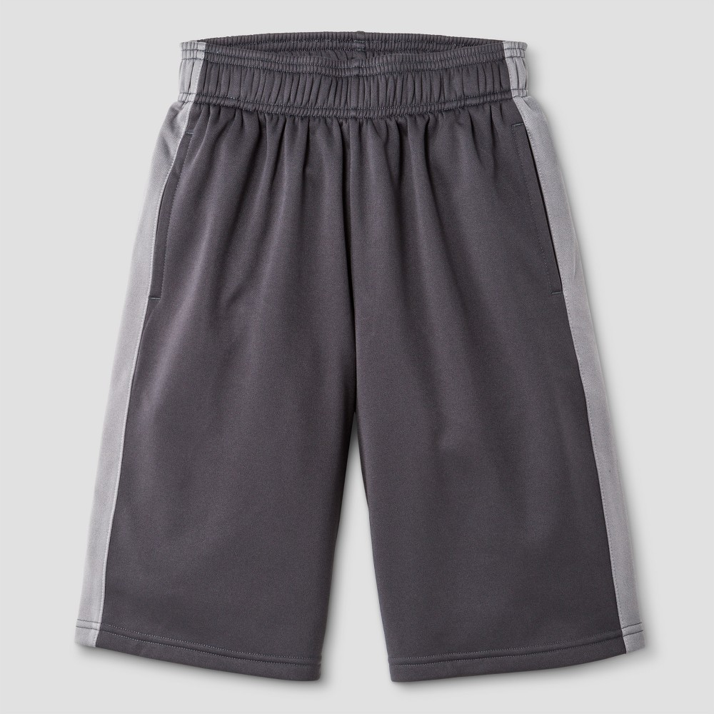 Boys Tech Fleece Shorts - C9 Champion Charcoal (Grey) S