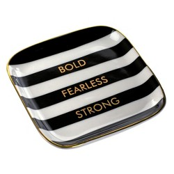 Bold Fearless Strong Trinket Dish - Tri-Coastal Design