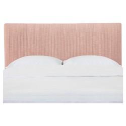 Skylar Upholstered Pleated Headboard - Linen - Skyline Furniture®