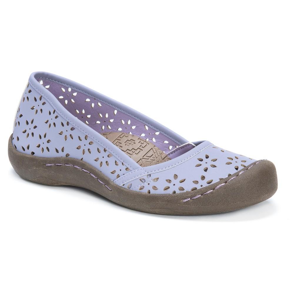 Womens Muk Luks Sandy Ballet Flats - Purple 7