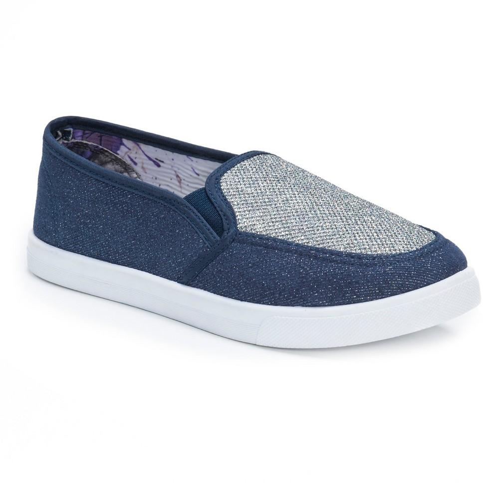 Womens Muk Luks Maddi Sneakers - Blue 9