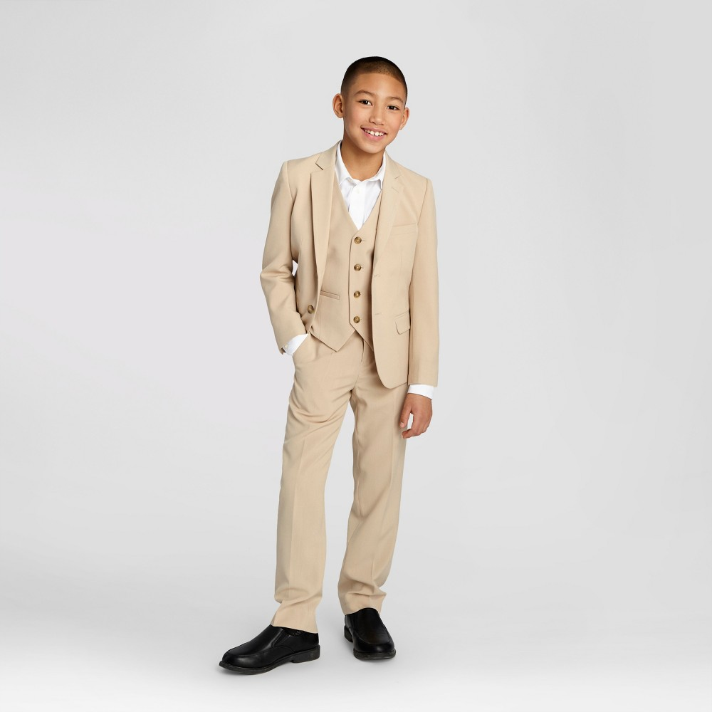 Wd·ny Boys' Blazer – Desert Tan 4, Boy's, Brown