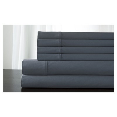 Langston Cotton Rich Bonus Sheet Set (King)Blue Fog