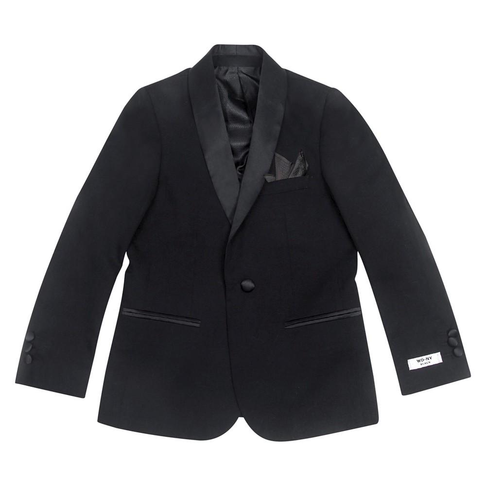 Wd·ny Boys Front button down Blazer - Black 4