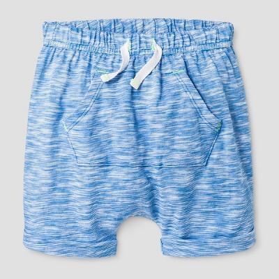 Baby Boys' Kanga Pocket Shorts Cat & Jack™ - Blue 6-9 Months