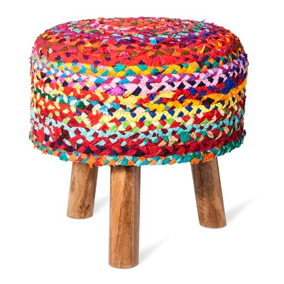 Woven Tripod Accent Stool - Threshold™