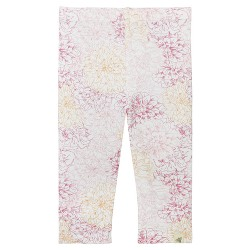 Burt's Bees Baby® Girls' Organic Garden Floral Capri Leggings