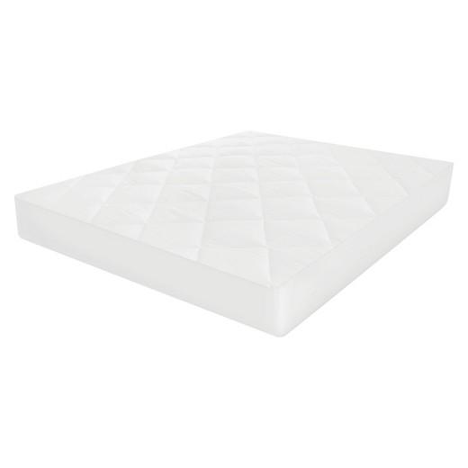 MicroShield Mattress Pad Queen White SensorPedic Tar