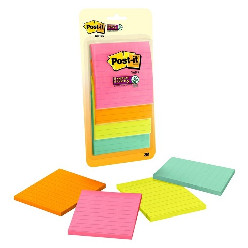 "Post-It® Notes, 4x4"" - Multicolor - image 1 of 3"