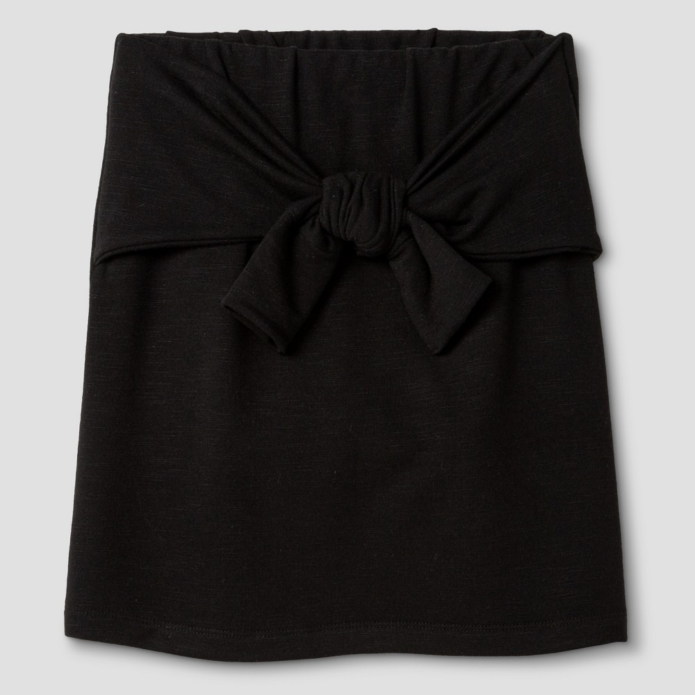 Girls Knit Skirt - Art Class Black M