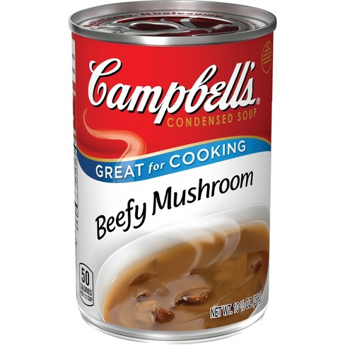 Campbell's® Condensed Beefy Mushroom Soup 10.5 oz - image 1 of 5