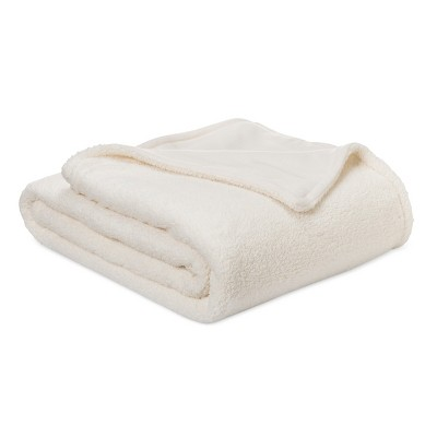 Sherpa Blanket (Full/Queen)Ivory - Room Essentials™