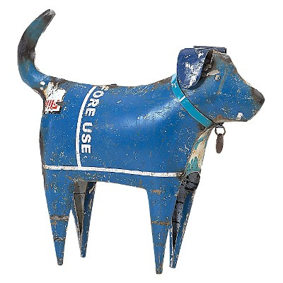 Recycled Dog - Multi Color - Foreside Home & Garden