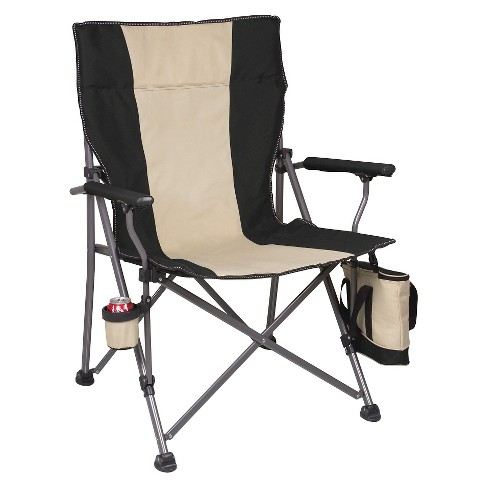 Picnic Time Big Bear Camp Chair - Black - image 1 of 4