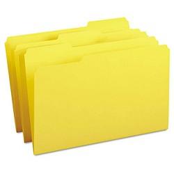 Smead® File Folders, 1/3 Cut Top Tab, Legal, 100 ct