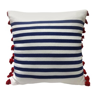 Striped Throw Pillow - Blue - Threshold™