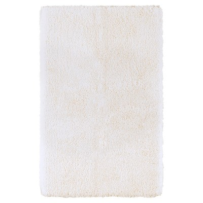 Luxury Solid Bath Rug (24 X38 )Cream - Fieldcrest®