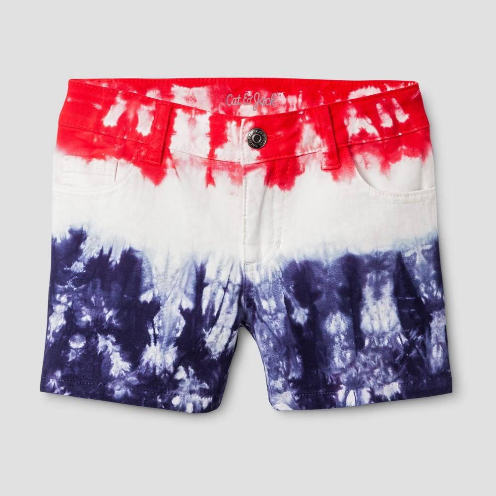 Girls Tie Dye Fashion Shorts - Cat & Jack M, Multicolored