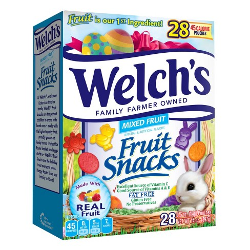 Welch's Mixed Fruit Snacks - 28ct - image 1 of 1